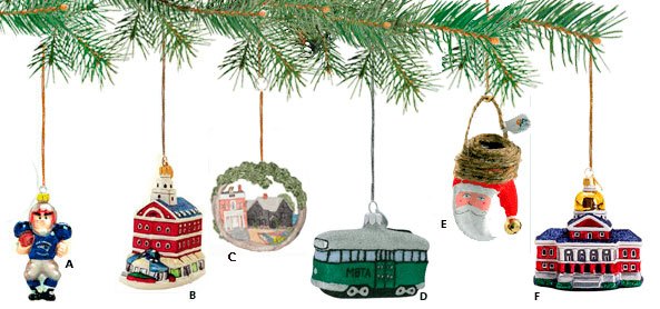 New England Holiday Ornaments