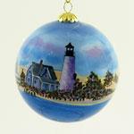 Sandy Neck Cape Cod Ball Ornament